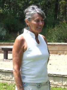 Grace, December 2011, at a party at Mogo Botanic Gardens