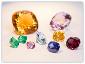 Ethical jewelers, cut gems, photo by Charlie Birchmore, courtesy of Ingle & Rhode