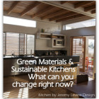 Green materials and sustainable kitchenes - what can you change right now? Kitchen by Jeremy Levine Designs