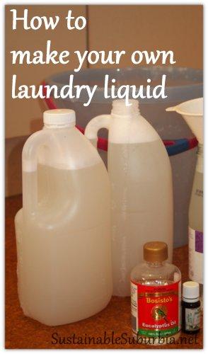 how to make homemade washing powder