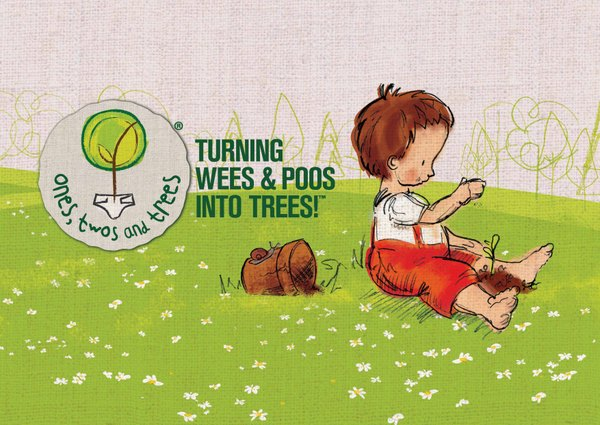 Turning wees and poos into trees