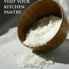 Got a Toothache? Visit your kitchen pantry. Sea salt by happy Krissy | SustainableSuburbia.net