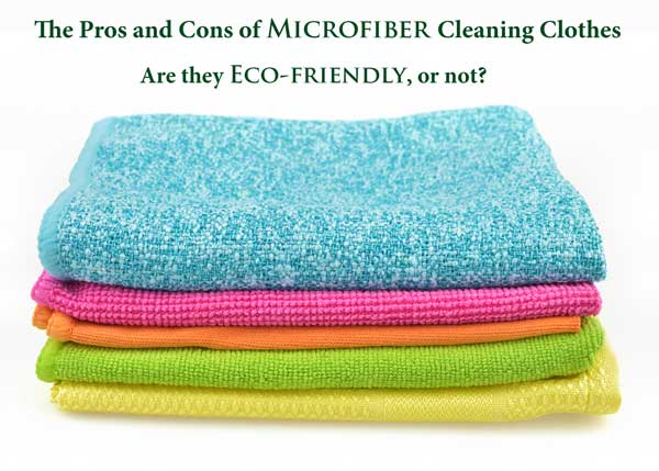 The pros and cons of microfiber - ecofriendly cleaning? | Sustainable Suburbia.net