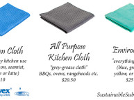 The Norwex Kitchen Cloth, All-Purpose Kitchen Cloth & Envirocloth - what's the difference? | SustainableSuburbia.net