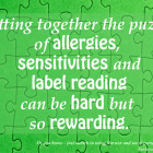 Putting together the puzzle of allergies, sensitivities and label reading can be hard but so rewarding. | SustainableSuburbia.net