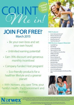 Join for Free in March, | be your own boss and set your own hours