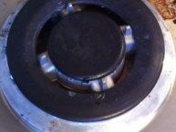 How to clean a stainless steel stove with non-toxically with Norwex| SustainableSuburbia.net