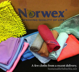 Norwex - Improving Quality of Life | A few cloths from a recent delivery | SustainableSuburbia.net