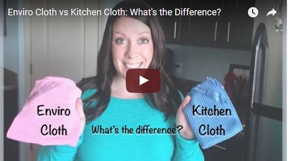 envirocloth vs kitchen cloth what's the difference