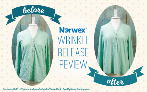 Norwex Wrinkle Release Spray review